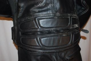 Fieldsheer Kevlar Motorcycle Leather Pant Jacket 32 42