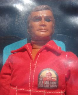 Vintage Kenner 1970s The Six Million Dollar Man Action Figure SEALED