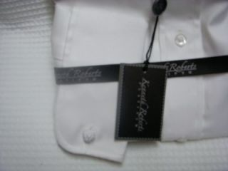 Kenneth Roberts Platinum French Cuff White Shirt 15 5