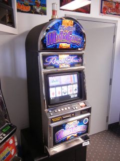 Summit Royal Touch Keno and Poker Multi Game Video Machine