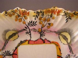 James Kent Fenton Acacia H P Floral Sun Candy Dish