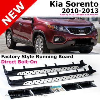 For Kia Sorento 10 12 Running Board Step Bar Direct Bolt on Factory