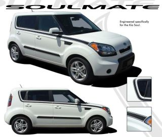 2010 2012 KIA SOUL MATE Decal Graphics Stripes Vinyl (3M Premium Vinyl