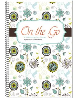 Planned Day On The Go Homeschool Planner/Organizer/Calendar 2012 2013