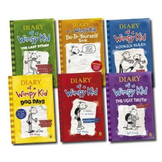 Diary of A Wimpy Kid Series Book 1 6 2007 2011 E Book