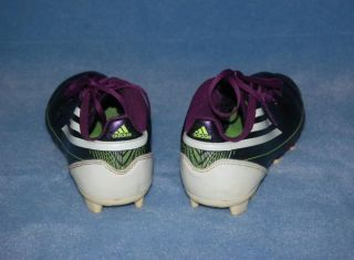 Kids Youth Adidas F5 F50 Metallic Purple Soccer Cleats Boy Girl Sz 4 5