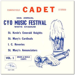 1966 CYO Music Festival Drum Corps CD St. Kevins, St. Marys. I.C