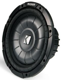 Kicker 12 inches Ported Truck Subwoofer Box with 2 Impedance CVT12