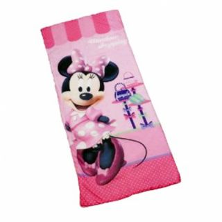 Disney Minnie Mouse Pretty Kids Sleeping Bag Camping Travel