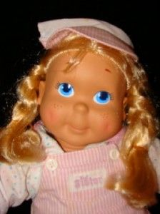 1990 Playskool Kid Sister My Buddy Doll Blonde