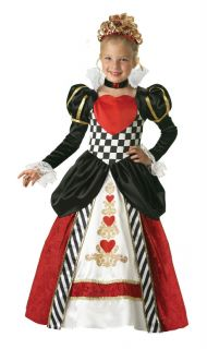 Elite Queen of Hearts Child Costume Alice in Wonderland