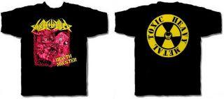 Toxic Holocaust CD lgo Death Master Official Shirt LRG New