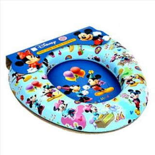 Mickey Mouse Kid Padded Potty Toilet Training Seat Blue