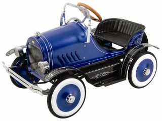 Roadster DELUXE Blue Pedal Car Dexton* Kaylee* China NR, Item Arrives