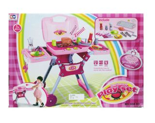Barbeque BBQ Play Set Grill Lights & Music Kids Toy Childrens Toy NEW