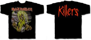 Iron Maiden CD cvr Killers Eddie Official Shirt Large New