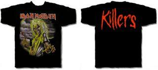 Iron Maiden CD cvr Killers Eddie Official Shirt Large New