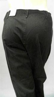 Kim Rogers Plus Petite Womens 18 Comfort Flat Front Casual Pants Slim
