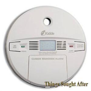 Kidde Carbon Monoxide Alarm Digital Co Gas Detector Wall Ceiling RV