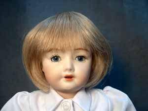 Bleuette Wig Kimberly Human Hair Size 6 7 DK Brown