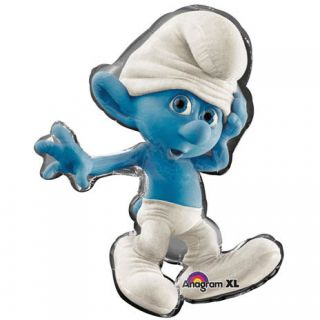 Kids Birthday Party Supplies Smurfs Theme