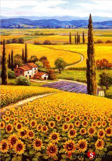 Jigsaw Puzzles 1000 Pieces Sunflower Fields Sung Kim