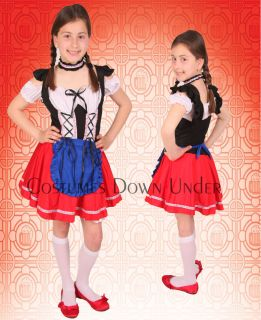 Girls Kids International Fancy Dress Costume 10 12