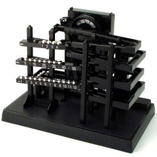 Can You Imagine Time Machine Kinetic Display Clock 5413