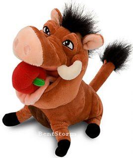 Lion King Hula Pumbaa Mini Bean Bag Plush