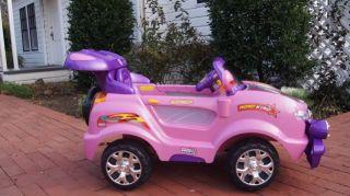 Kids Ride on Power Car Remote Control Wheels RC 6V 10AH Big Girls Car