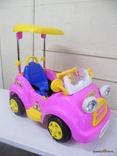 Kids Power Go Golf Ride on in Remote Control Wheels Car