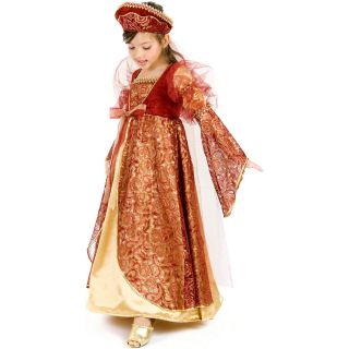 Princess Anne Child Costume Queen Anne Princess Princess Anne Medieval
