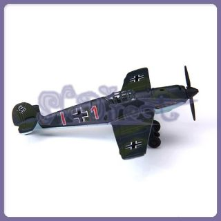 Kids Education WWII Military 1 100 Messerschmitt Me 109 Airplane