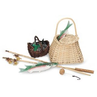 American Girl Kirsten Fishing Set Complete Pleasant Company Complete