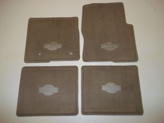 2011 2012 2013 Ford F150 King Ranch Carpeted Floor Mats 4 Piece Set