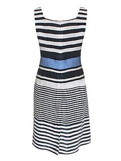 Minuet Petite Blue stripe shift dress Blue