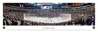 Los Angeles Kings NHL Game Night Panoramic Poster