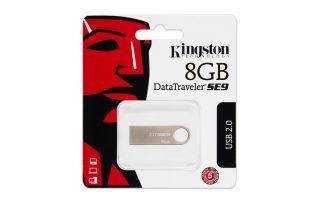 Kingston 8GB 8g Data Traveler DT SE9 USB Flash Pen Key Ring Drive