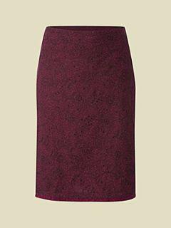 White Stuff Cotton reel skirt Purple
