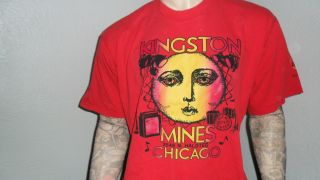 Kingston Mines Shirt Chicago Blues Concert Bar Club XL