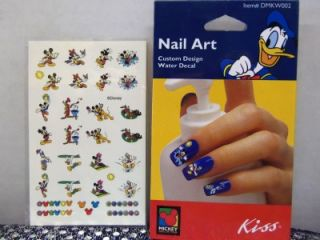/Minnie Mouse Disney Nail Art Stickers/Nail Files Plus FREE Bonus
