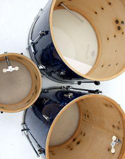 Vintage 60s Premier 54 Drum Kit Blue Pearl Hardware