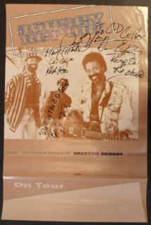 Kinsey Report Crossing Bridges Signed Autograph Promo Poster 1993
