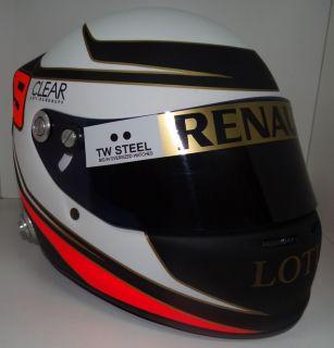 KIMI RAIKKONEN 2012    Replica Helmet 11 Scale    NEW LOTUS