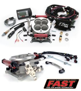Tuning Carb to Fuel Injection Dual Quad 2x4 Base Conversion Kit