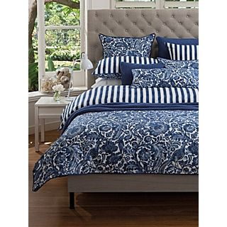 Acacia bed linen in french blue