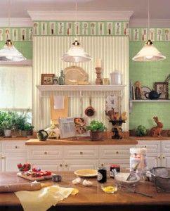 Wallpaper Border Spicher Retro Kitchen Tools Utensils