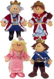 Tellatale Puppet King Queen Princess Prince Set