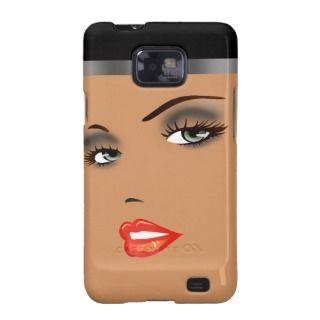 Bronze Beauty Pinup 5 Femme Fatale Diva Samsung Galaxy Cases