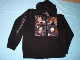Disney Kingdom Hearts Hoodie Sweatshirts Jacket